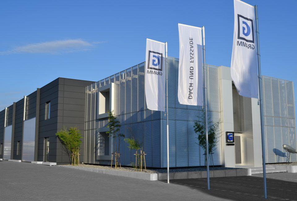Wir über uns - Verwaltungsgebäude in Friedrichshafen