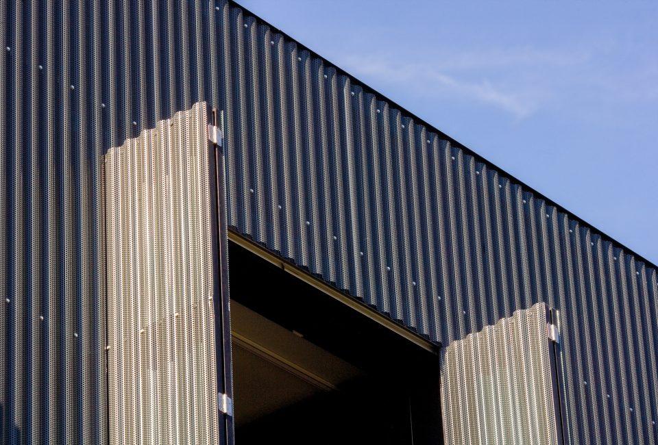 Fassaden aus Lochblech